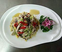 白油肉片(色泽美观,肉质细嫩,咸鲜味)(滑炒)的做法