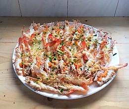 蒜蓉粉丝蒸大虾#舌尖上的春宴#的做法