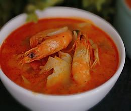 【泰式冬阴功汤】酸辣鲜美,激活你的味觉。的做法