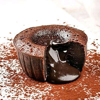 梁家妇女——心太软(巧克力熔岩杯子蛋糕)