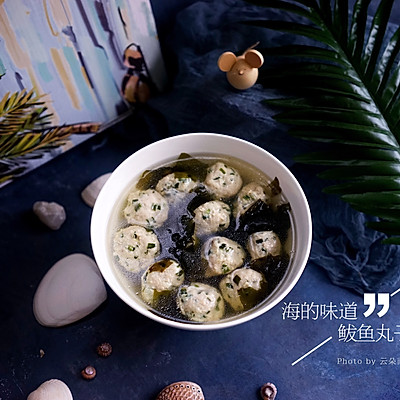 海带苗鲅鱼丸子汤——海的味道