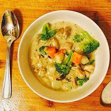 奶油蔬菜浓汤