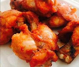 空气炸锅版奥尔良烤鸡腿—只要两步的做法