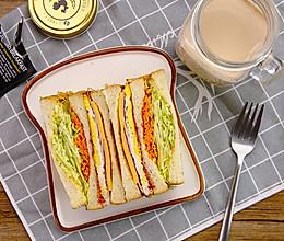 韩国街头三明治|太阳猫早餐的做法