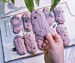 紫薯味糯米粉版手指麻薯的做法