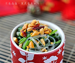麻辣花生拌菠菜的做法