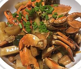 在家就能吃到美味的肉蟹煲的做法