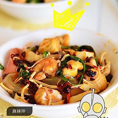 东北辽宁小吃(麻辣拌)东北筒子必吃的特色小吃 附调料秘制配方