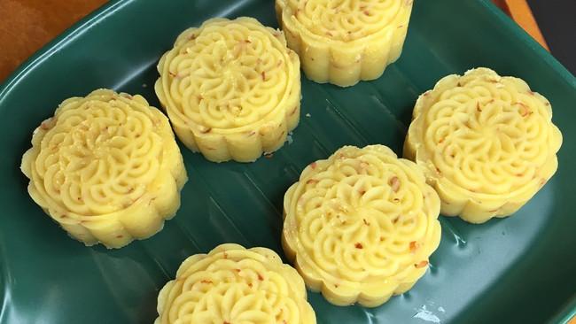奶香桂花绿豆糕(破壁机入口即化)的做法