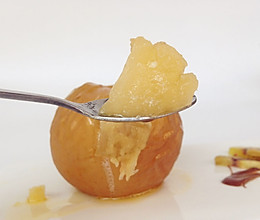 甜蜜烤苹果#一起吃西餐#的做法