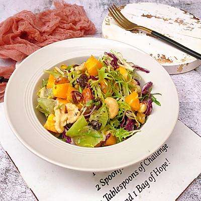 减肥减脂食谱~每日坚果蔬果沙拉