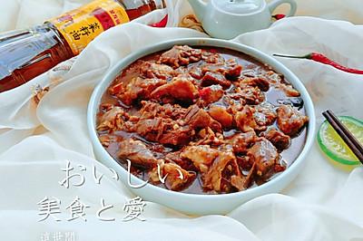 天津人最爱菜之一黄焖牛肉#金龙鱼外婆香小榨菜籽油最强家乡菜#