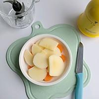 胡萝卜苹果米糊的做法图解2