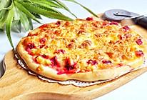 #餐桌上的春日限定#水果披萨的做法