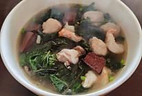 潮汕猪血汤的做法