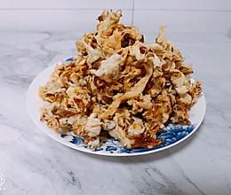 干炸平菇的做法