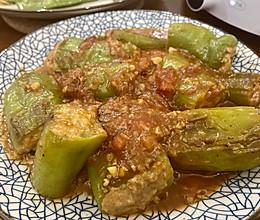年夜饭易上手大菜-青椒酿肉的做法
