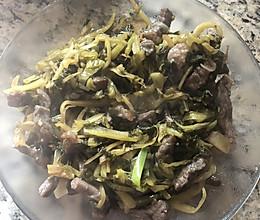 泰国酸菜炒牛肉的做法