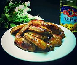 #多力金牌大厨带回家-广州站#香煎蜜汁鸡翅的做法