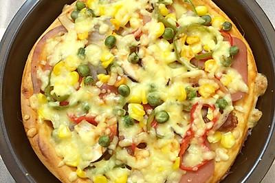 小巧蔬菜披萨/8寸简单操作