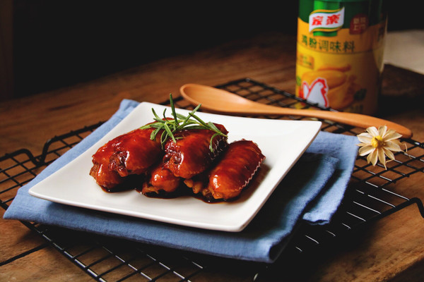 香茅豉油鸡翅#鲜有赞,爱有伴#的做法