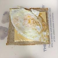 营养美味的芝士肉松三明治(含折纸法)的做法图解6