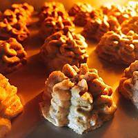 网红香港珍妮小熊曲奇 咖啡小花云顶曲奇饼干 咖啡伴侣下午茶的做法图解15