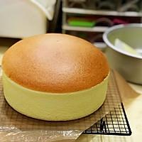 起司片棉花蛋糕 8吋無奶油、燙麵水浴烘烤(转载)的做法图解26