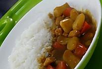 咖喱肌鸡肉饭的做法