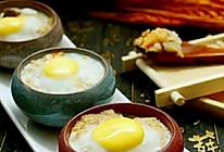三重口感的豪华肉饼蒸蛋的做法