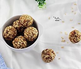 休闲零食——燕麦花生酱球的做法
