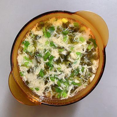 1分钟紫菜蛋花汤