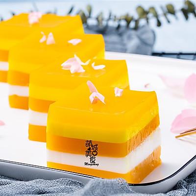 椰奶芒果糕