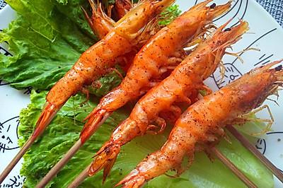 超级简单的烤大虾(烤箱版)