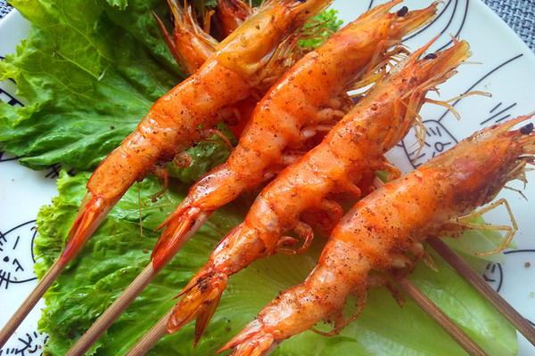 超级简单的烤大虾(烤箱版)的做法