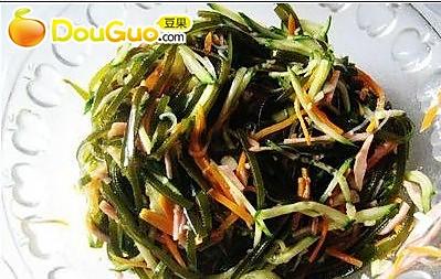 麻辣三丝 (冬季减肥菜谱)的做法
