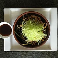 怀旧版满分减腹餐凉拌三丝之【海带莴苣拌胡萝卜】的做法图解6