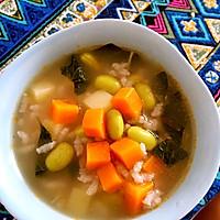 营养早餐粥-宝宝蔬菜米粥的做法图解11