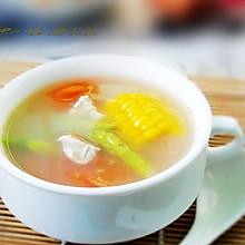 芦笋玉米番茄汤