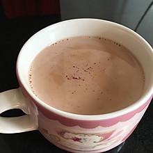 玫瑰普洱奶茶