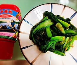 李锦记旧庄蚝油蒜蓉迟菜心#鲜蚝鲜煮的做法