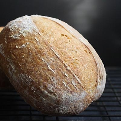 天然酵母乡村面包