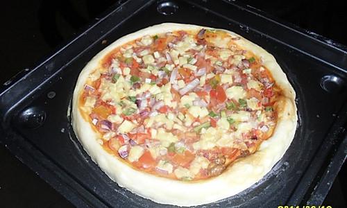 我用微波炉做比萨的做法