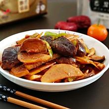 #精品菜谱挑战赛#香菇土豆片