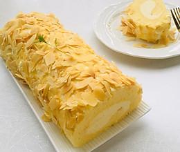 杏仁咸奶油蛋糕卷的做法