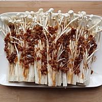 #换着花样吃早餐#蒜蓉金针菇的做法图解8