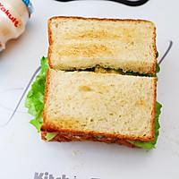 畅快早餐,元气满满一整天  ~黑椒鸡胸肉厚蛋三明治的做法图解7