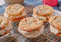 快把彩虹吃掉   Funfetti 冰激凌夹心曲奇的做法