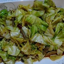 爆炒圆白菜