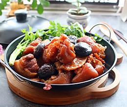 #父亲节,给老爸做这道菜#南乳冬菇焖猪手的做法